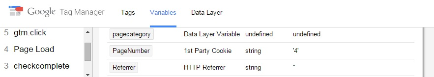 Google Tag Manager counter